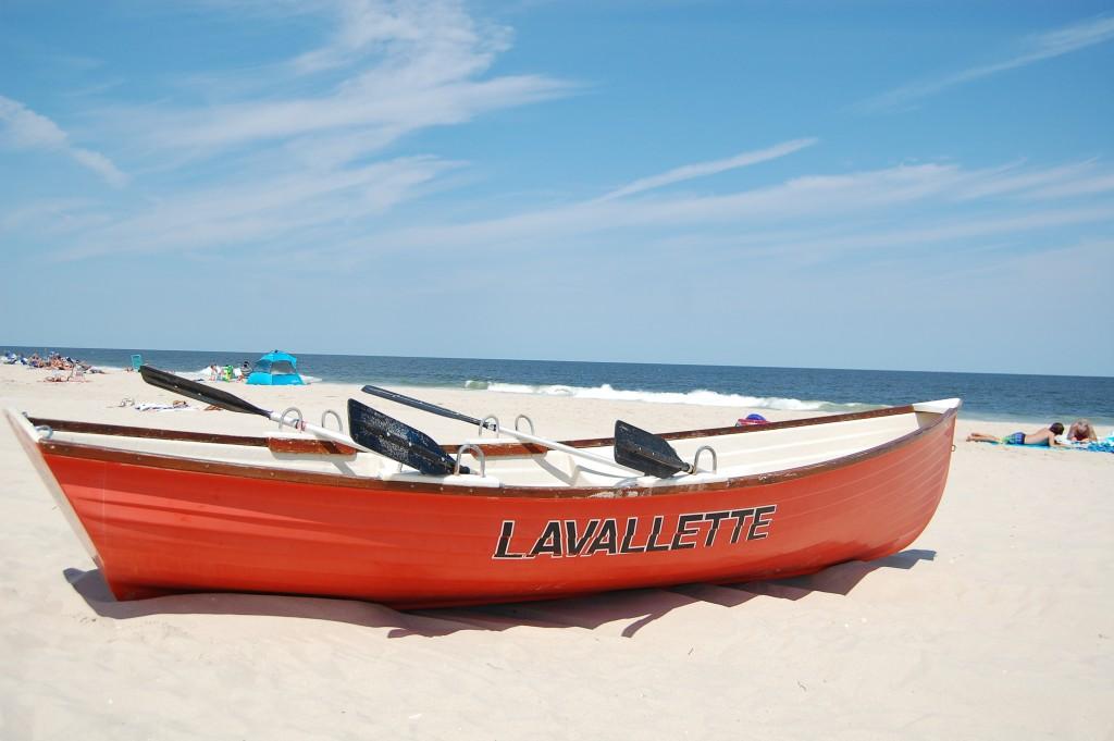 Lavallette life boat. (Photo: Daniel Nee)