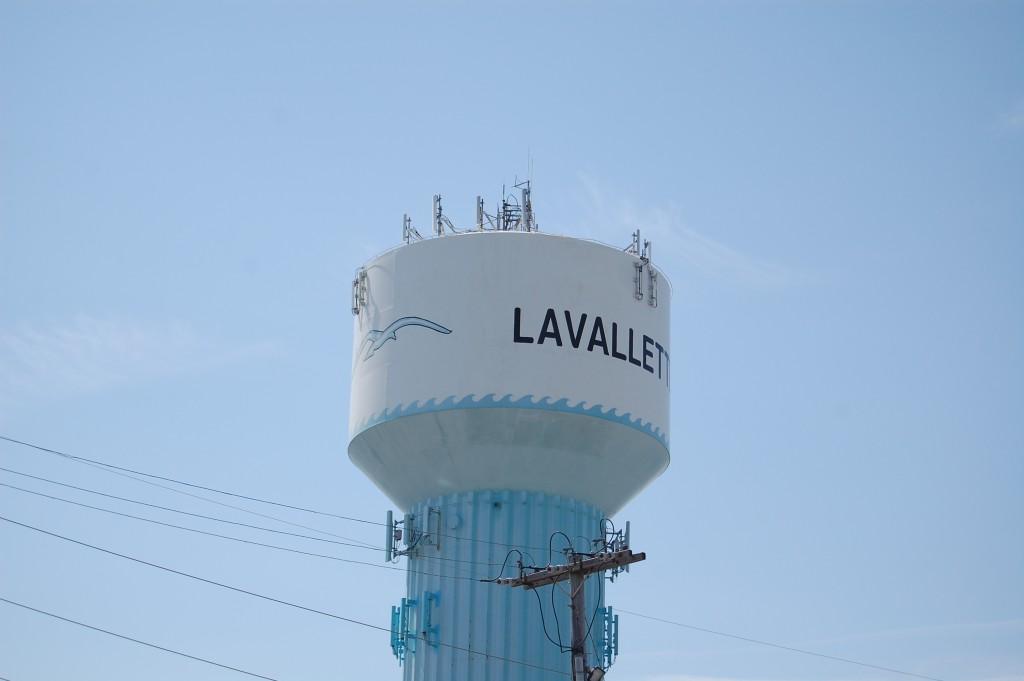 Lavallette water tower. (Photo: Daniel Nee)