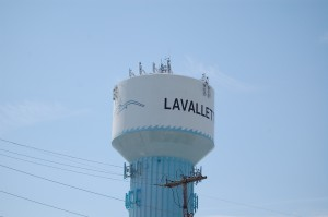 Lavallette water tower. (Photo: Daniel Nee)