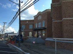Lavallette's new municipal building under construction. (Photo: Daniel Nee)
