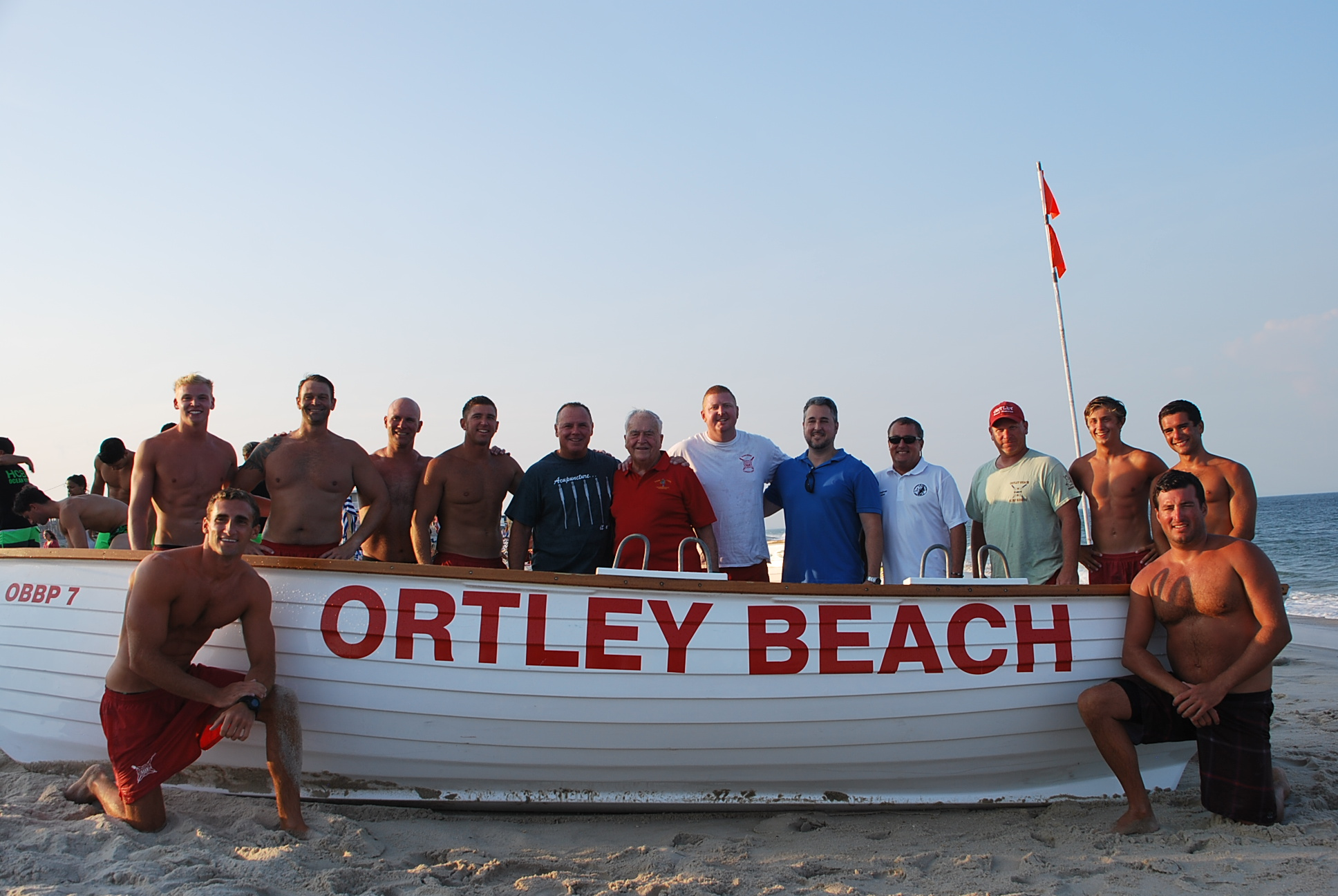 Ortley Beach lifeguards at the neighborhood's first tournament since Superstorm Sandy struck in 2012. (Photo: Toms River Twp.)