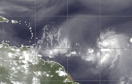 Tropical Storm Danny (Credit: CIMSS)