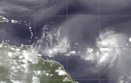 Tropical Storm Danny (Credit: CIMSS)
