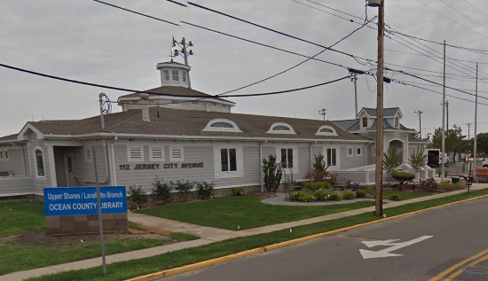Upper Shores Branch of the Ocean County Library (Credit: Google)