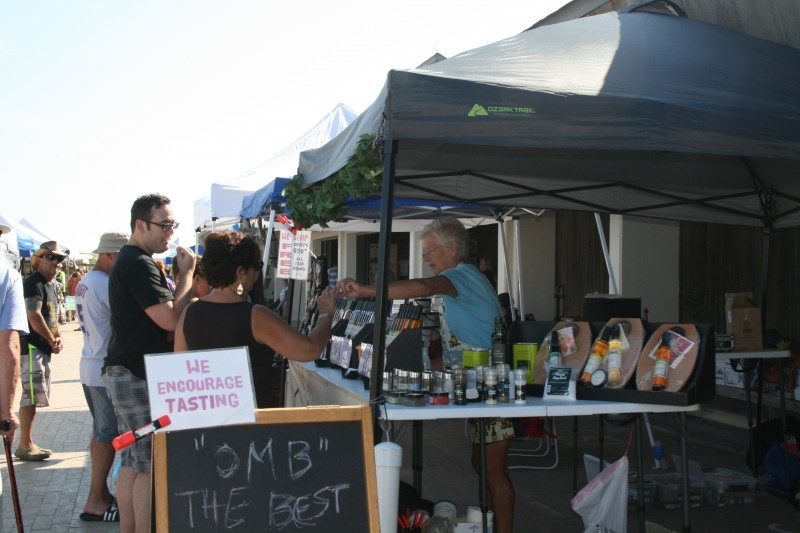 Vendors at the 2014 Beach Plum Festival. (Photo: Friends of Island Beach State Park)