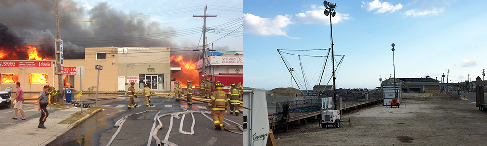 The Sept. 12, 2013 boardwalk fire, and its aftermath, Sept. 2015. (Photo: Daniel Nee)