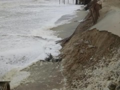 Ortley Beach's dunes, Oct. 3, 2015. (Photo: Toms River OEM)
