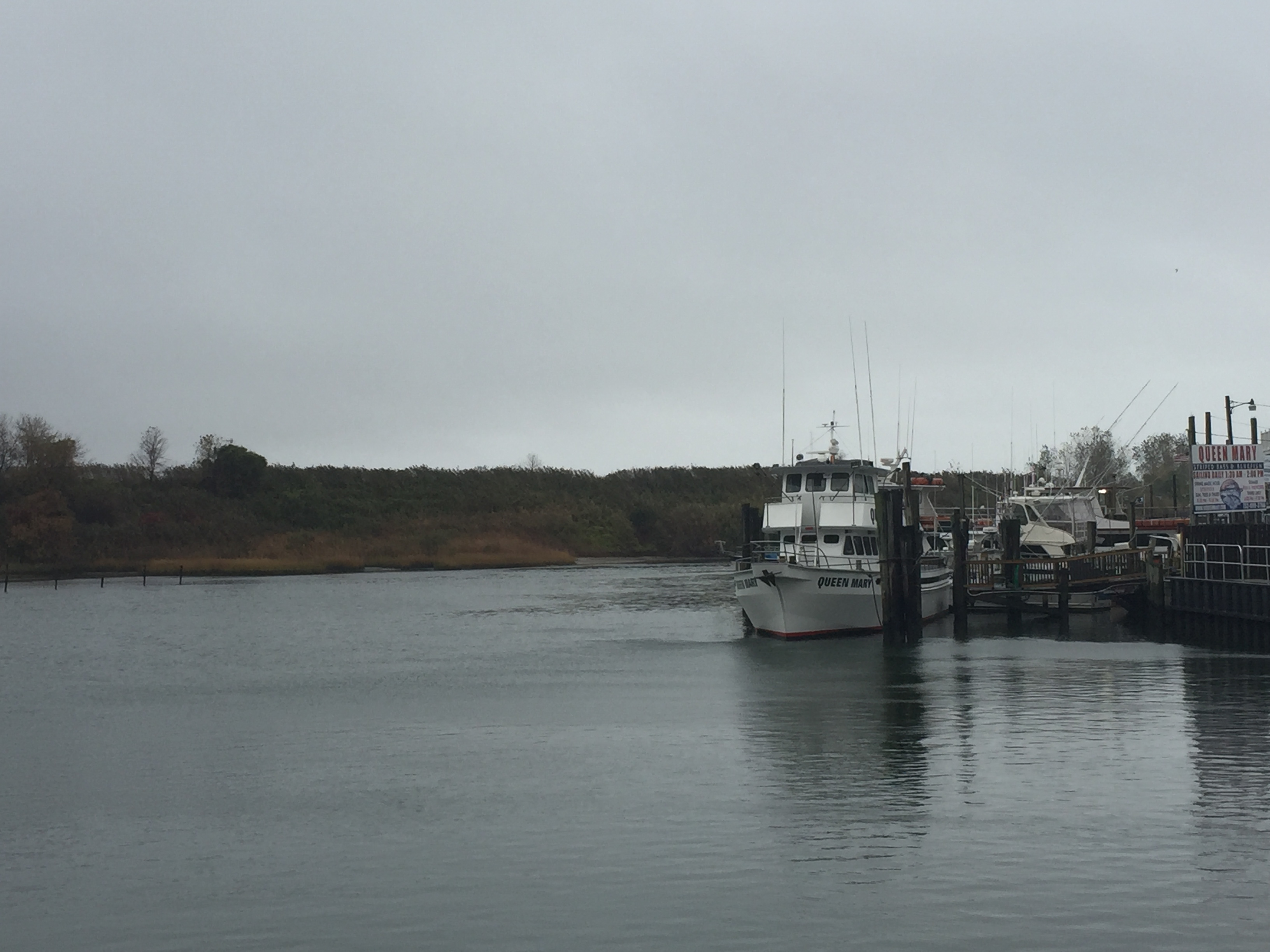 The commercial fishing channel on the east bank of the Manasquan River, Point Pleasant Beach. (Photo: Daniel Nee)