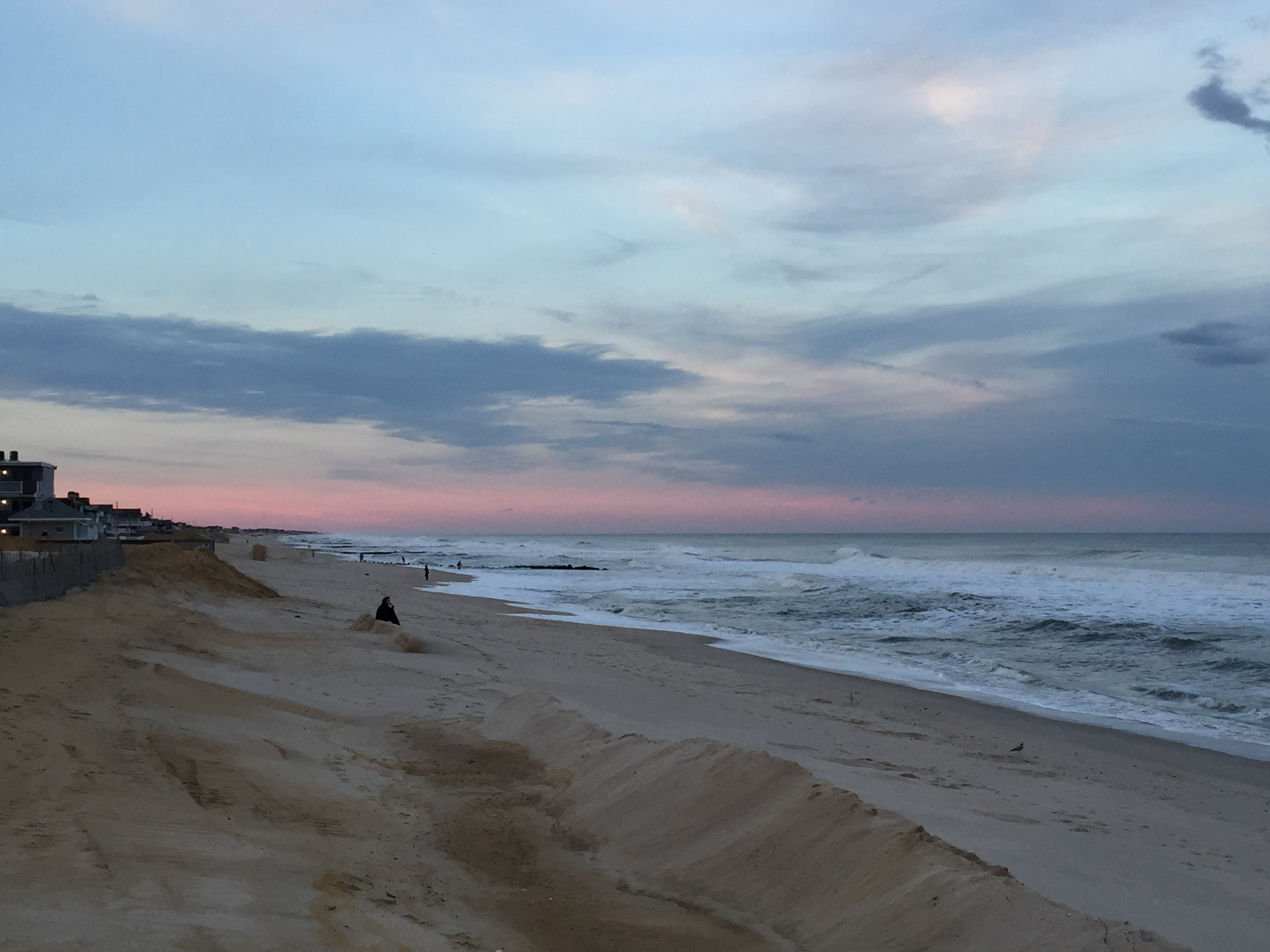 Ortley Beach's oceanfront, Oct. 2015. (Photo: Daniel Nee)