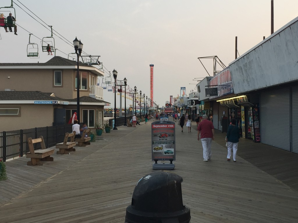 Seaside Heights Boardwalk, Fall 2015. (Photo: Daniel Nee)