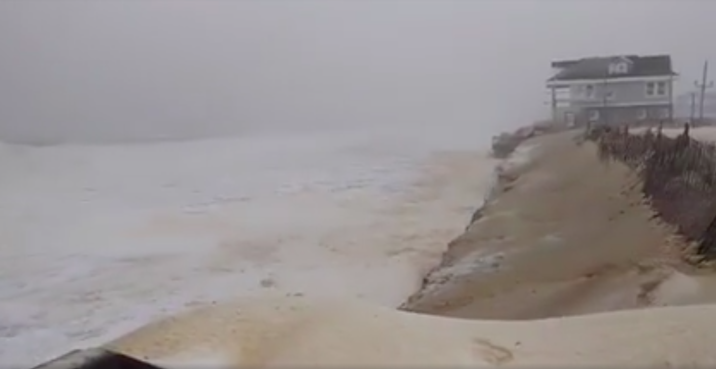 The Jan. 23, 2016 nor'easter at Ortley Beach. (Submitted Video)