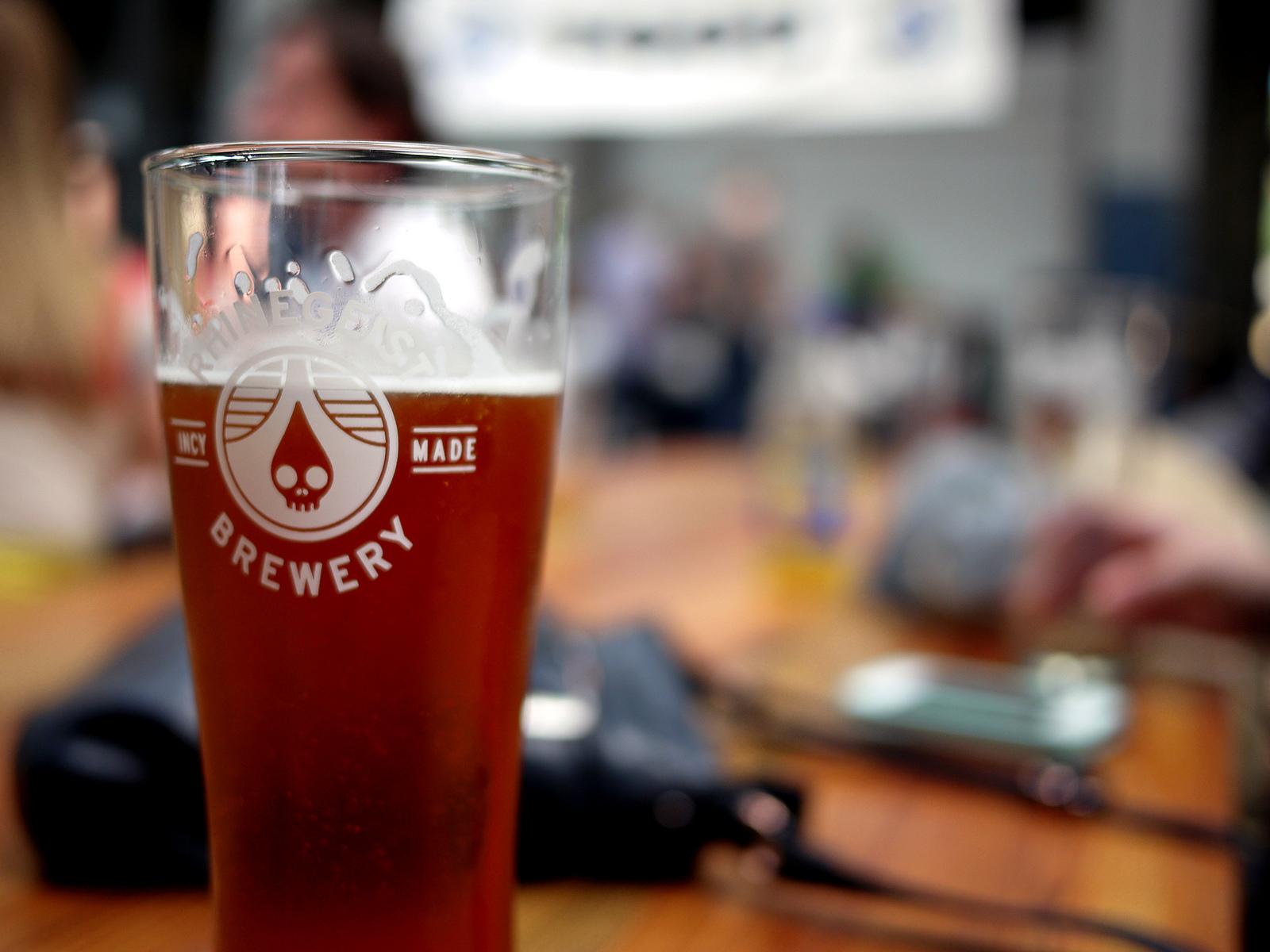 A mug of German beer. (Photo: 5chw4r7z/Flickr)