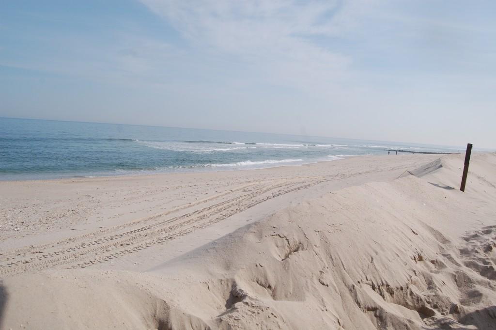 Lavallette's beach at Elizabeth Avenue. (Photo: Daniel Nee)