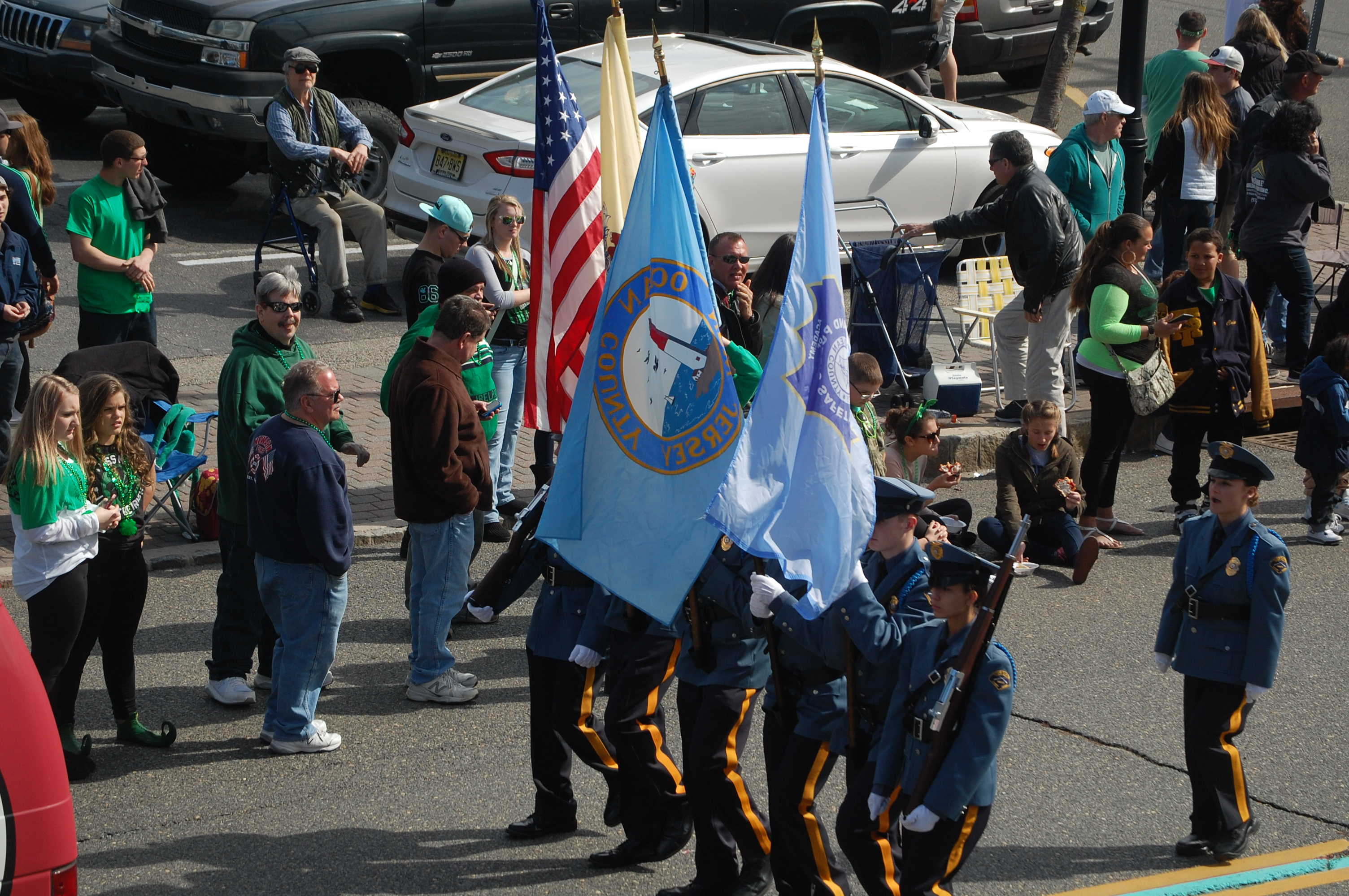 The 2016 St. Patrick's Day Parade, Seaside Heights, NJ