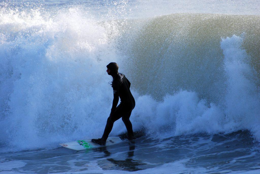 Surfing in New Jersey. (Photo: Todd Binger/Flickr)