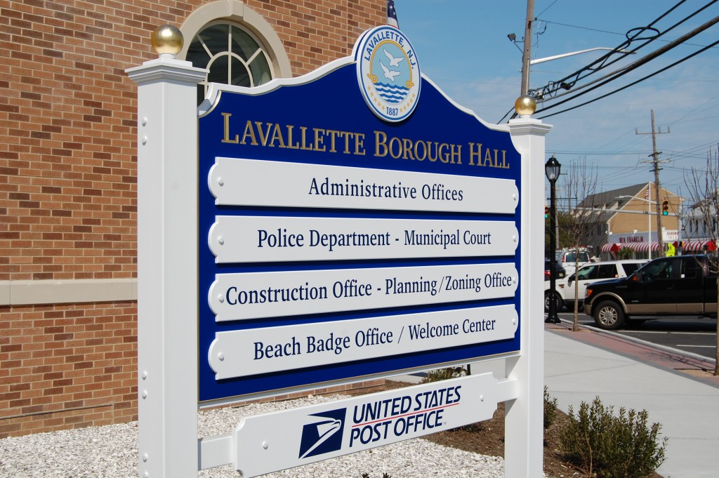 Lavallette Borough Hall (Photo: Daniel Nee)