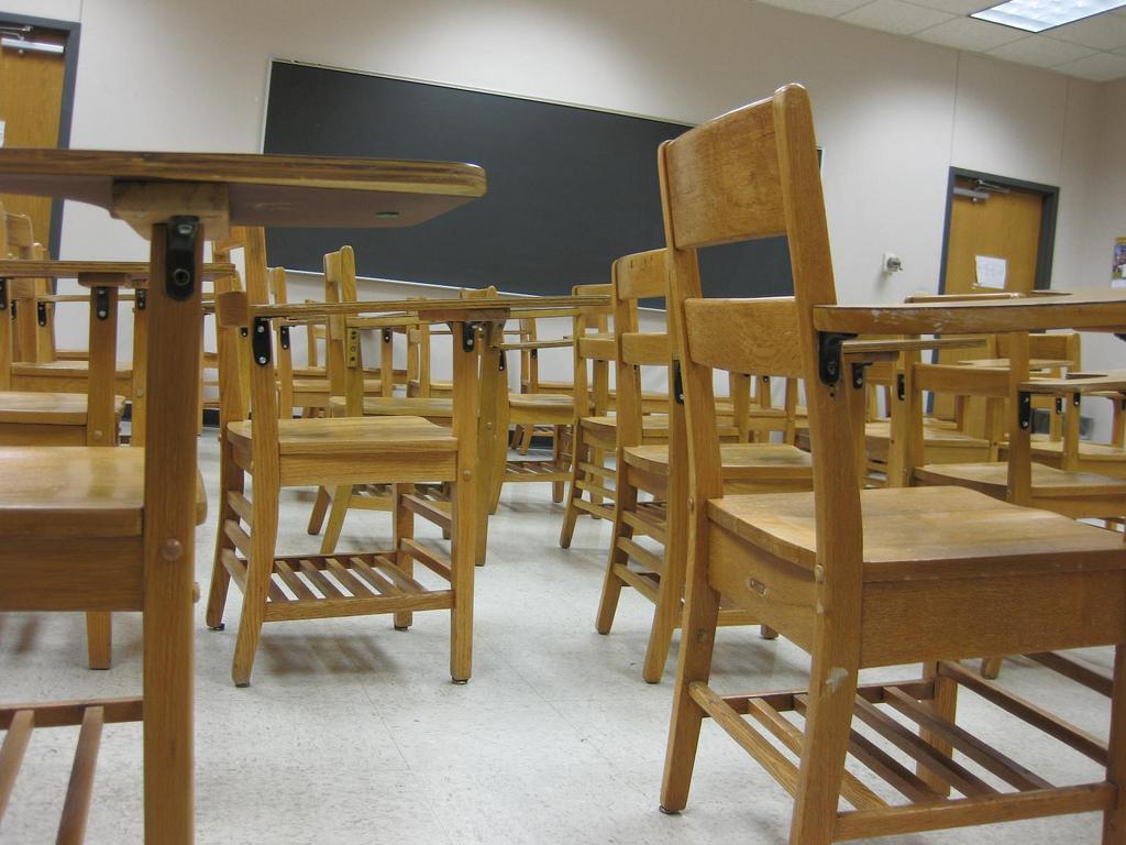 Classroom. (Credit: alamosbasement/Flickr)