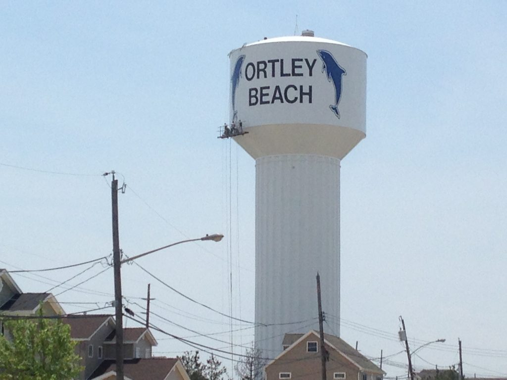 The Ortley Beach water tower. (Photo: Daniel Nee)