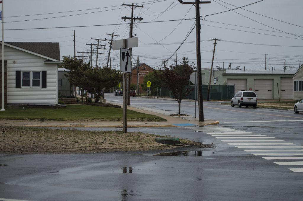 Bay Avenue and Washington Avenue, Lavallette (Photo: Daniel Nee)