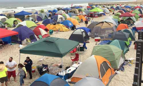 Beach Camping (File Photo)