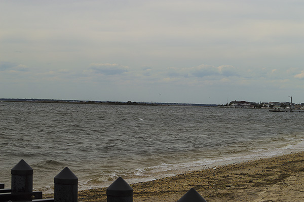 Barnegat Bay, off Lavallette's bay beach. (Photo: Daniel Nee)