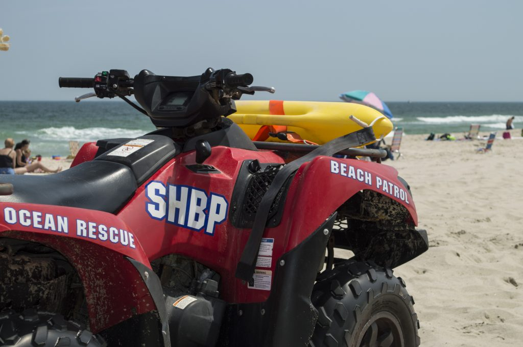 A Seaside Heights Beach Patrol vehicle. (Photo: Daniel Nee)