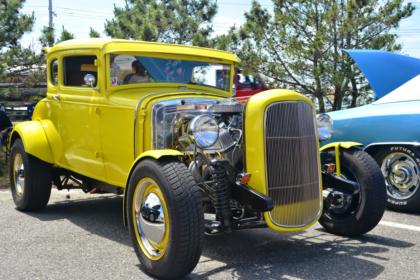 A hot rod on display at the 2015 Hot Rods and Food Trucks event in Seaside Heights. (File Photo)