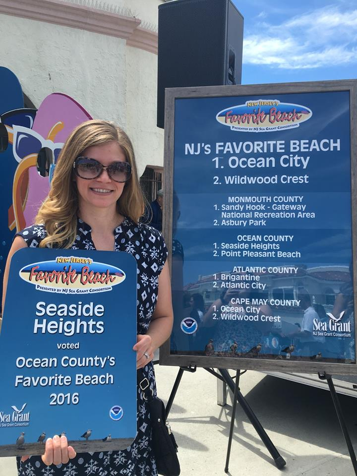 Seaside Heights was named Ocean County's top beach for 2016. (Photo: NJ Sea Grant Consortium)