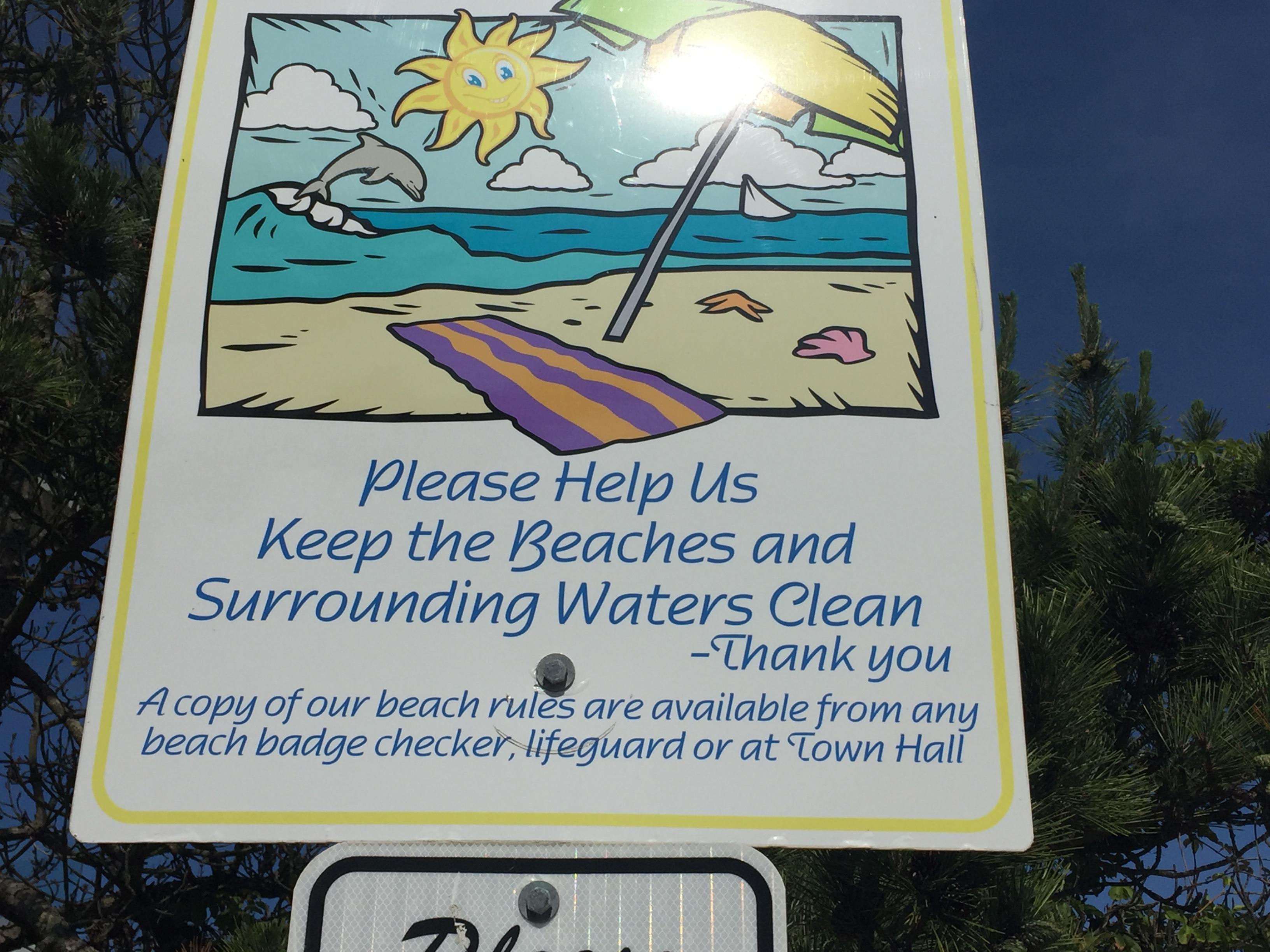 Long Beach Township S Rules Sign Photo Daniel Nee
