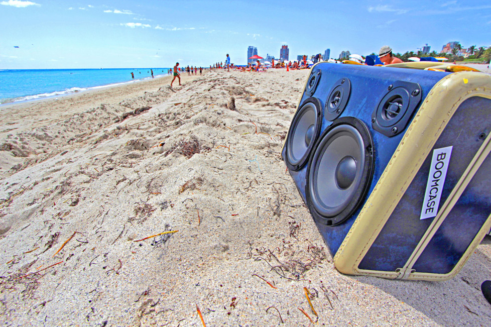 The Boomcase, a modern boombox. (Photo: Boomcase)