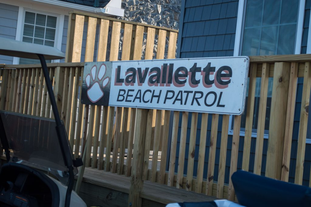 Lavallette lifeguard headquarters. (Photo: Daniel Nee)