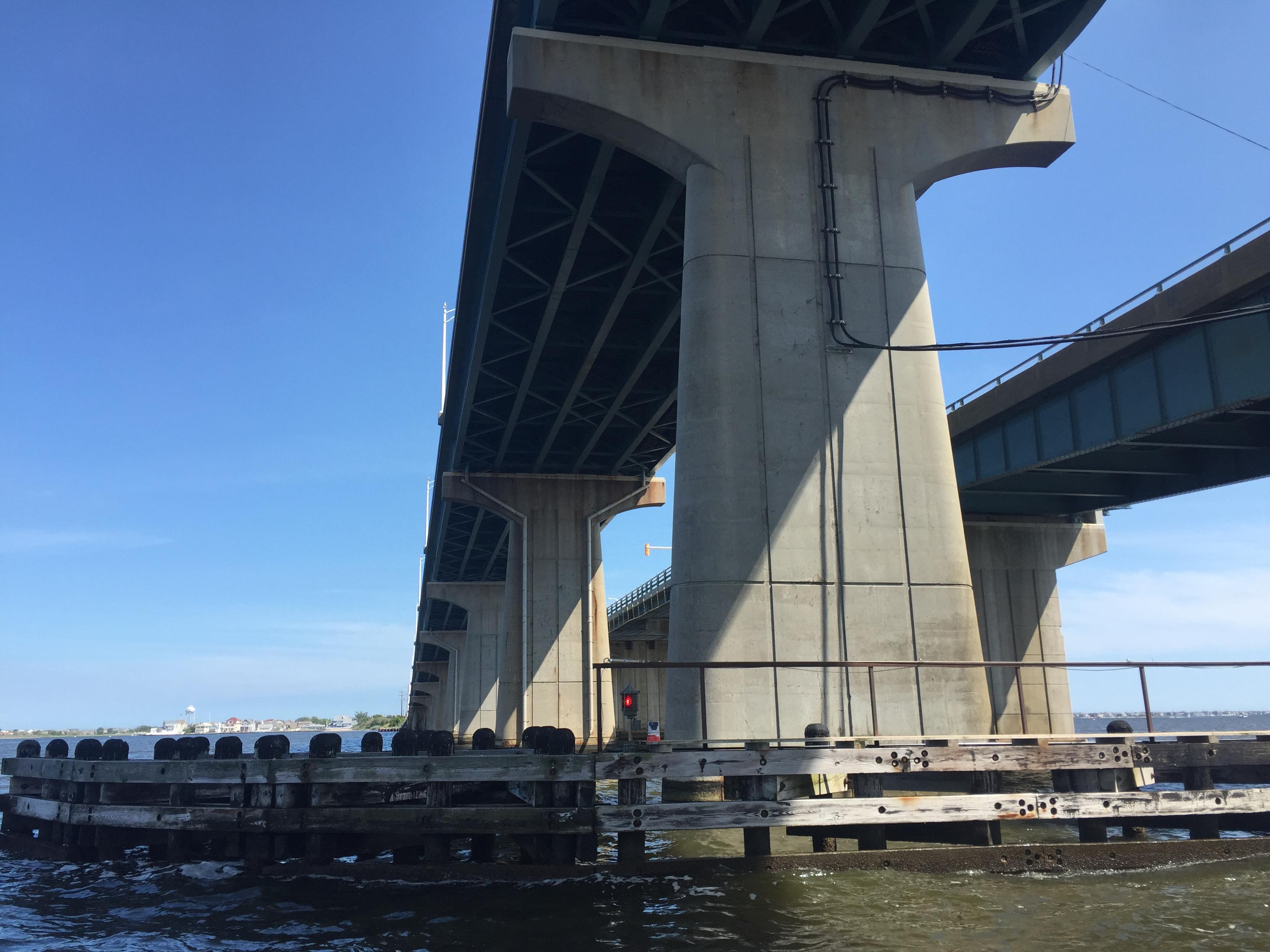 The J. Stanley Tunney and Thomas A. Mathis bridges. (Photo: Daniel Nee)