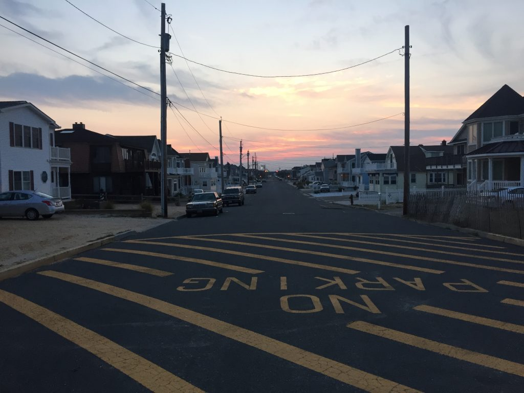 Elizabeth Avenue, Lavallette, NJ. (Photo: Daniel Nee)