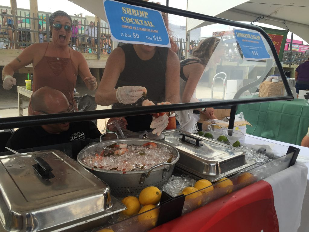 The 2016 Wine on the Beach event in Seaside Heights. (Photo: Daniel Nee)