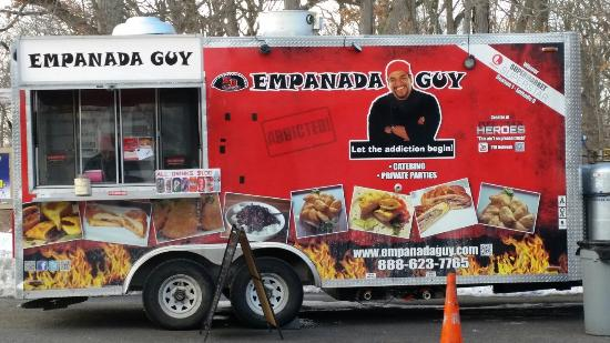 The Empanada Guy, a popular local food truck. (File Photo)