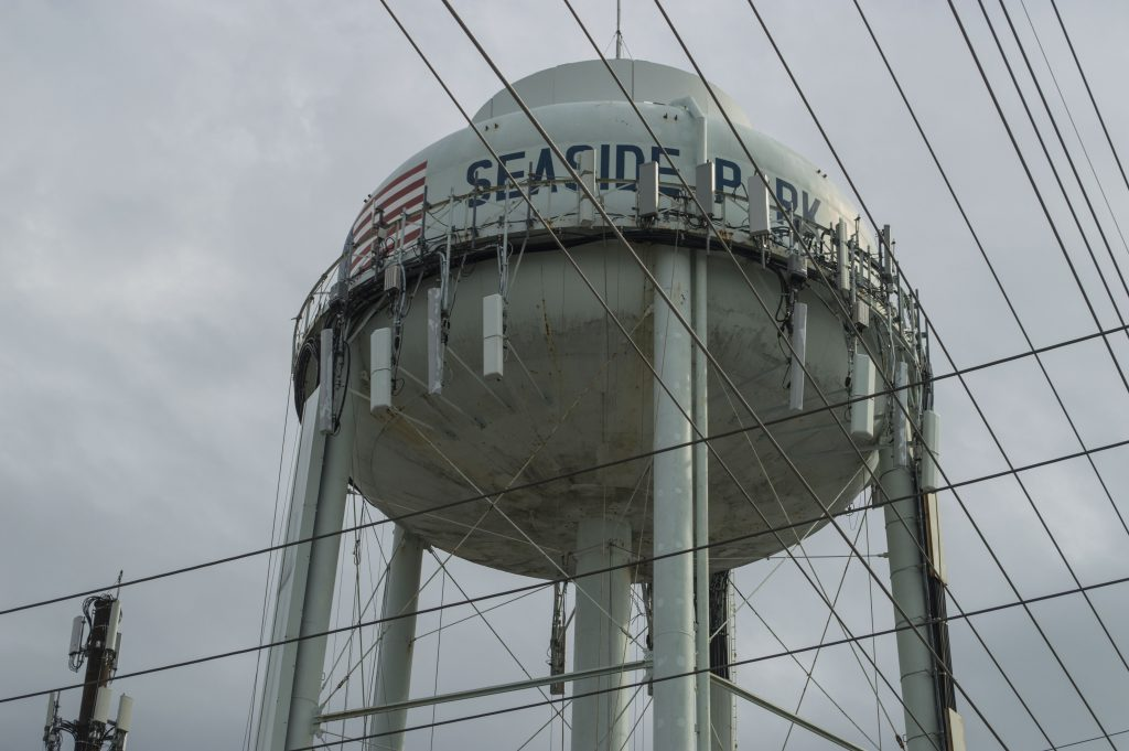 Seaside Park water tower. (Photo: Daniel Nee)