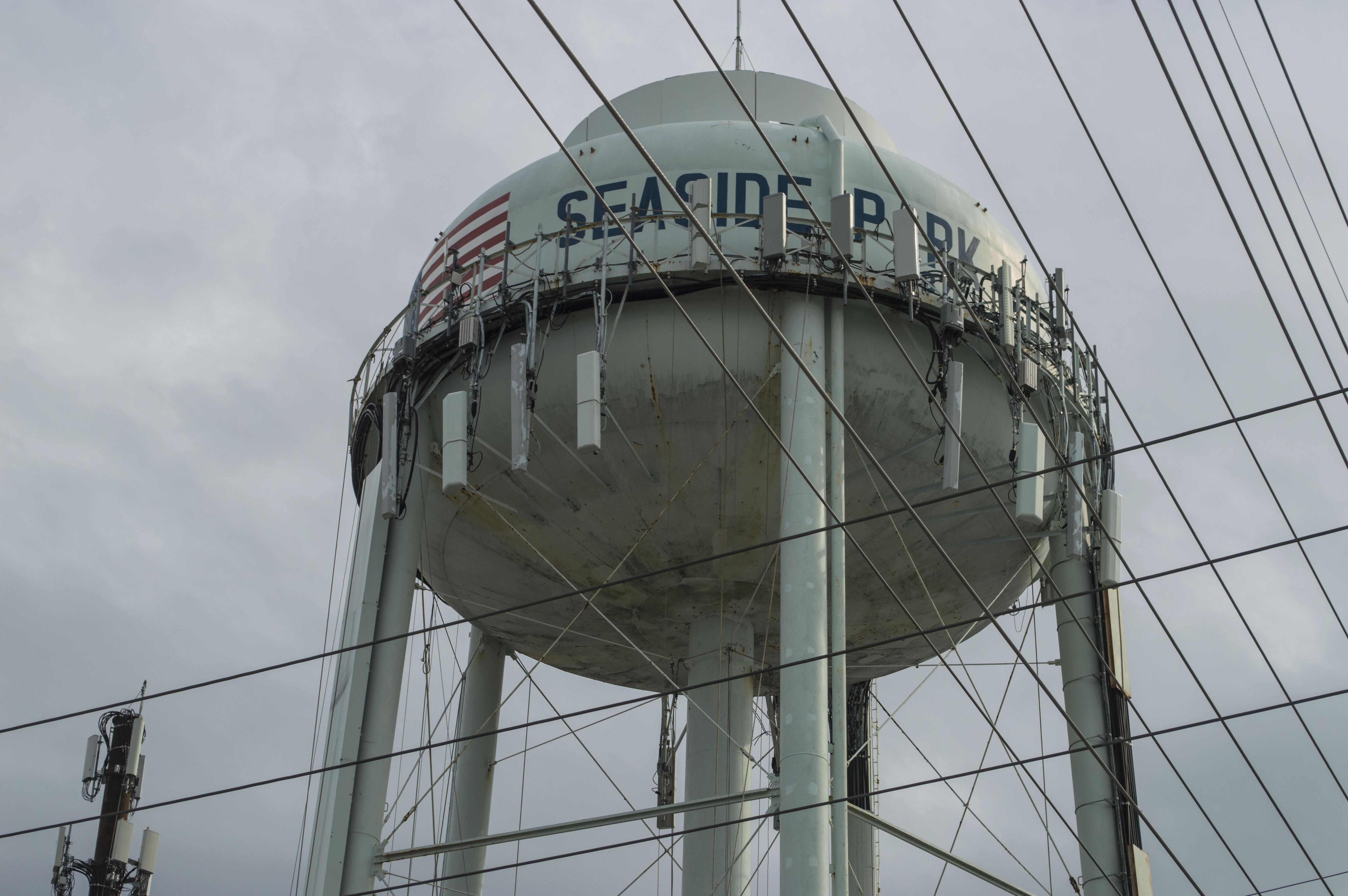 Seaside Park water tower. (Photo: Daniel Nee)