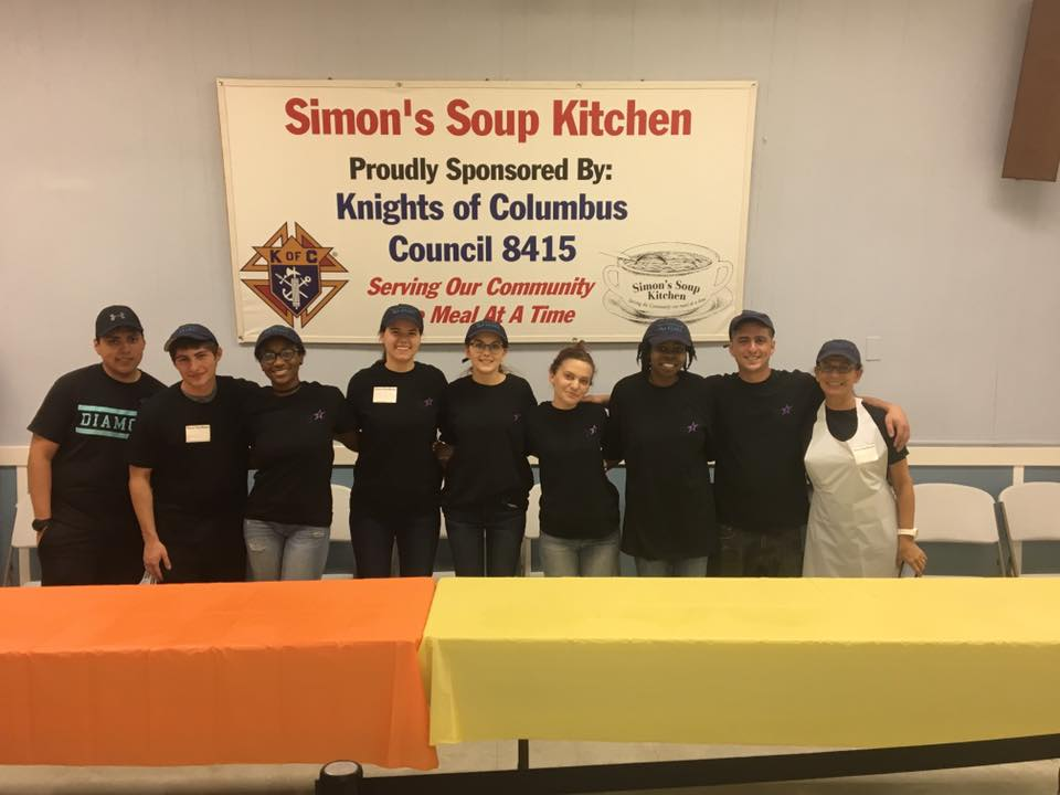 Volunteers at Simon's Soup Kitchen in Seaside Heights. (File Photo)