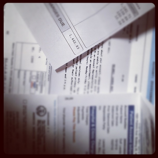 Medical Bills (Photo: Flickr/File Photo)