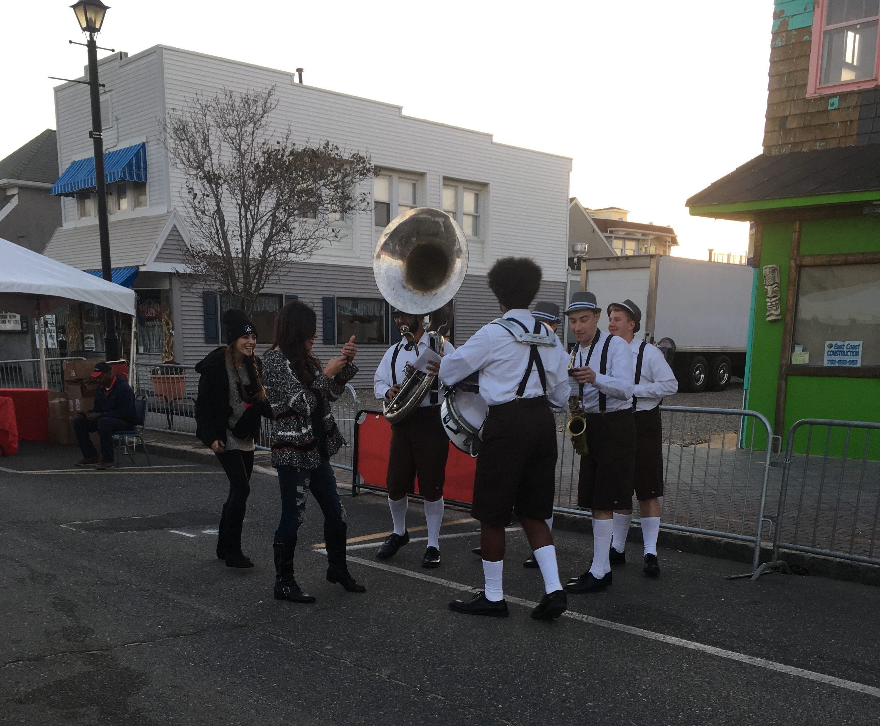 The first Seaside Heights Oktoberfest event, Oct. 23, 2016. (Photo: Stacey Chait)