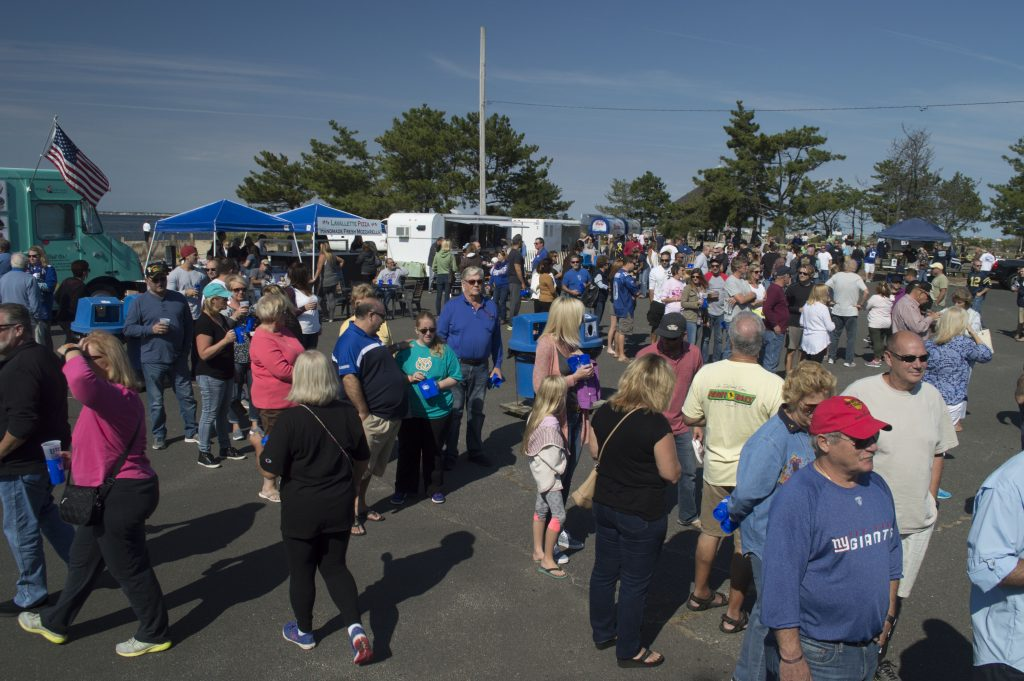 The 2016 Food Trucks and Football event in Lavallette. (Photo: Daniel Nee)