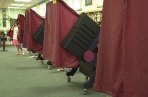 New Jersey voting booth. (File Photo)