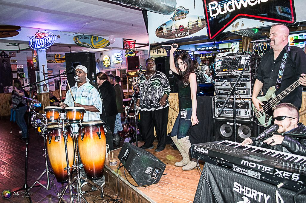 Shorty Long and the Jersey Horns play at the Beachcomber in Seaside Heights. (Richard Greene)