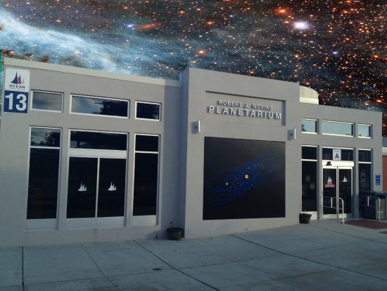 Novins Planetarium, Ocean County College. (Credit: OCC)