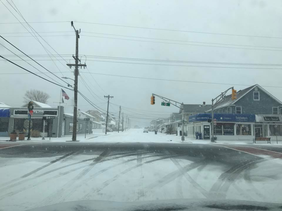 The Jan. 7, 2017 snow storm in Ortley Beach. (Reader-Supplied Photo)