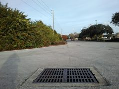 Storm sewer grate. (Credit: Daniel Oines/Flickr)
