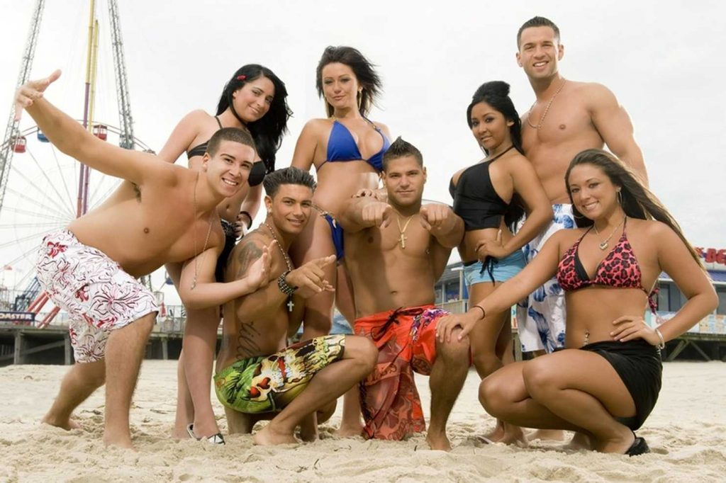 "The cast of ""Jersey Shore,"" filmed in Seaside Heights 2009-2012. (File Photo)"
