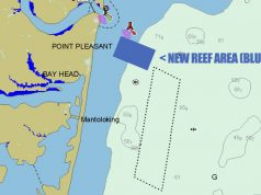 he new Manaquan Inlet Reef site, authorized this week. (Illustration: Daniel Nee)