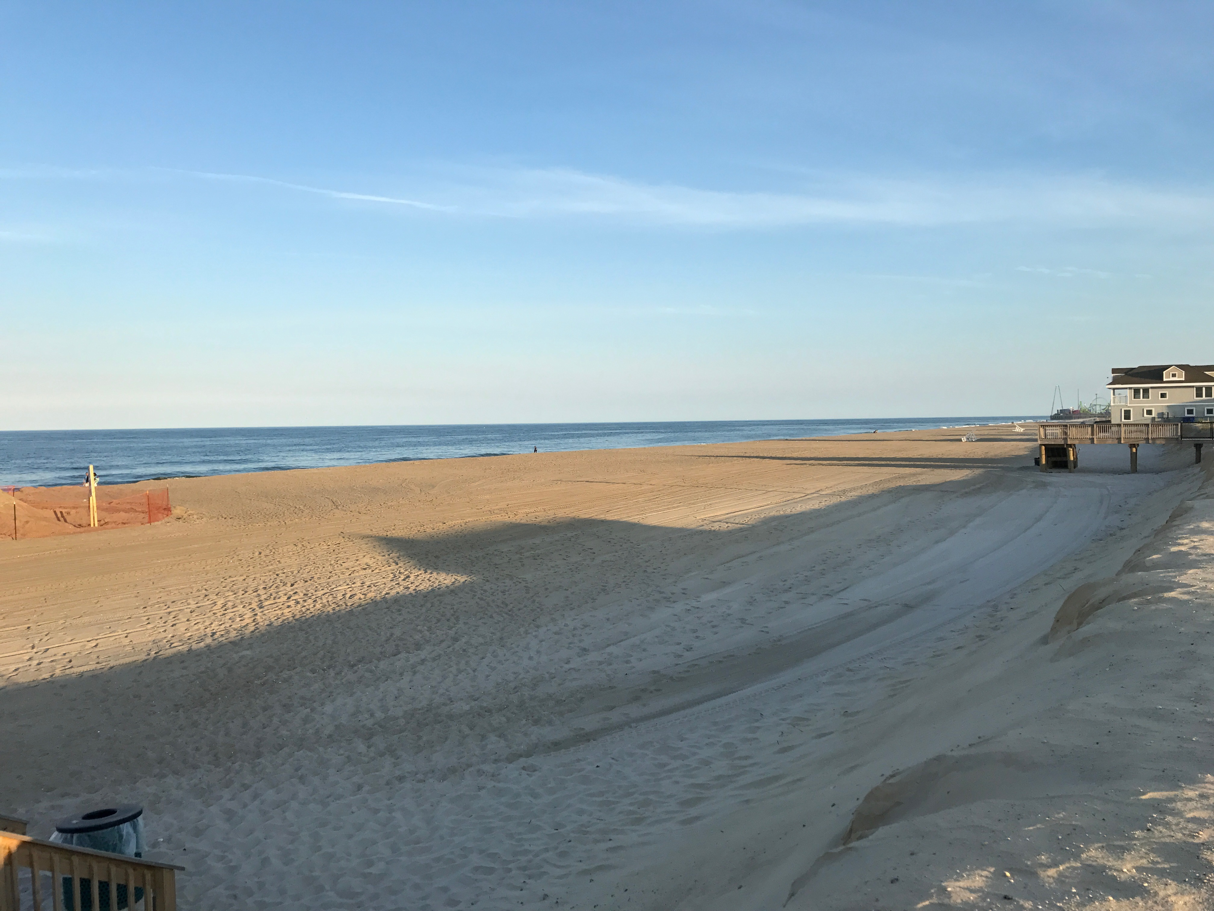Beach Replenishment In Ortley N J As Of June 14 2017