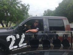 The Ma Deuce Deuce pickup truck.